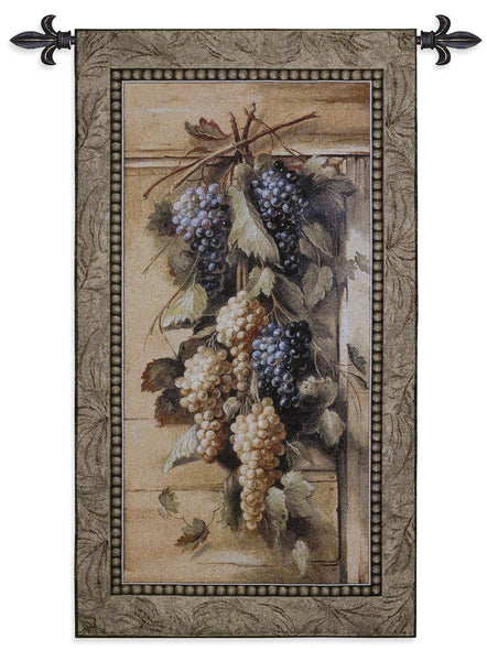 Poetic Grapes Tapestry Wall Hanging