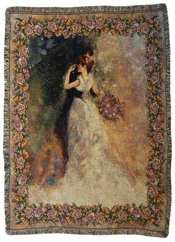 Always and Forever (Marriage or Wedding) Tapestry Throw