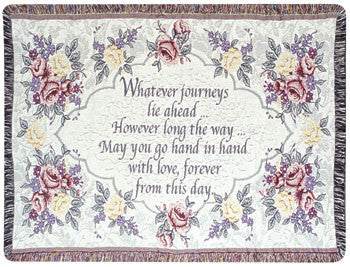 Wedding Tapestry Throw
