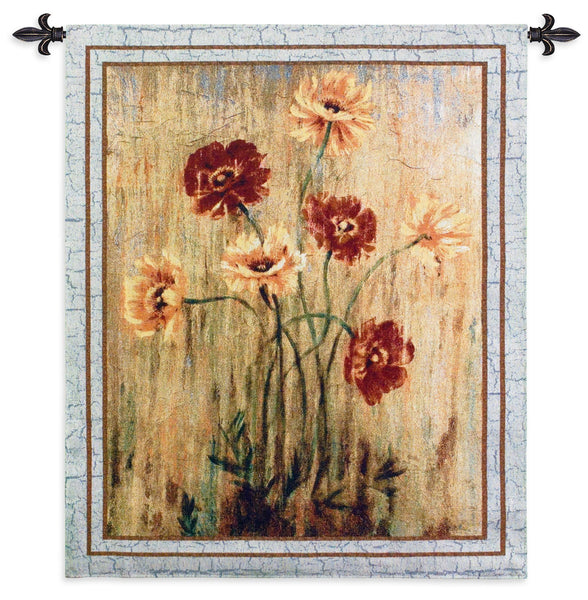 Poppy Serenade Tapestry Wall Hanging