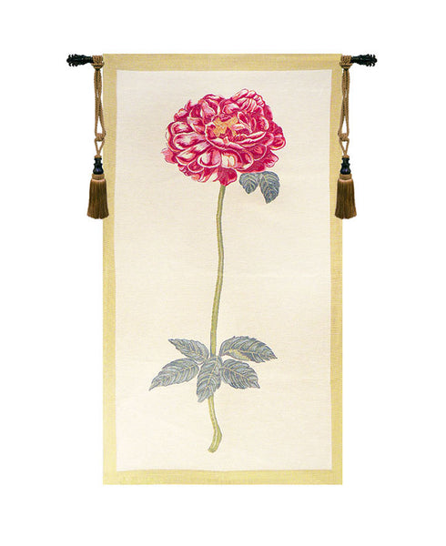 Redoute Rose European Wallhanging
