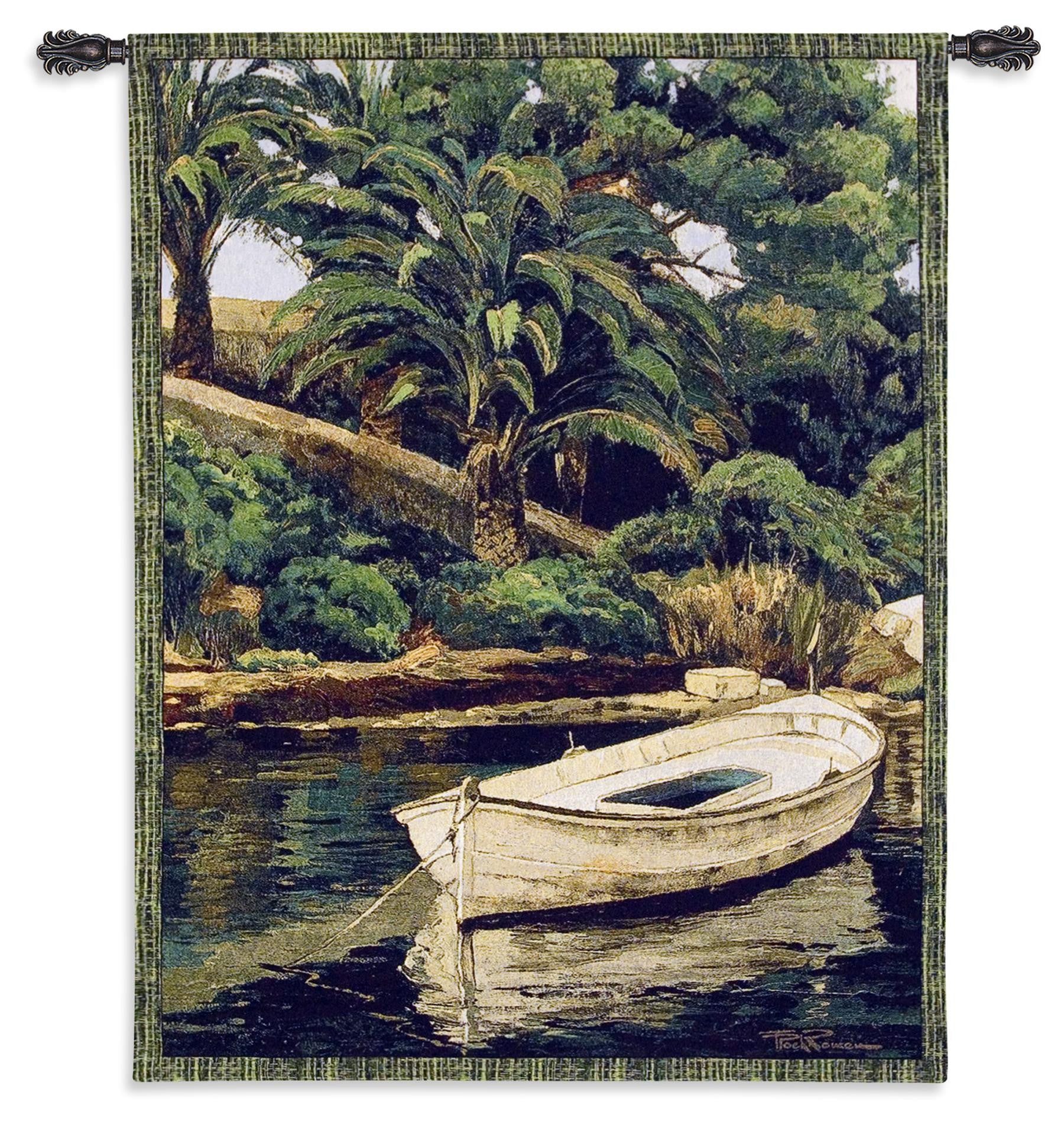 Barca y Pameras Tapestry Wall Hanging