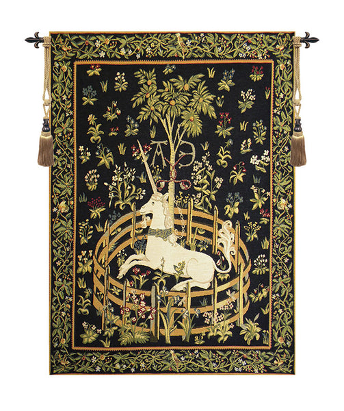 Unicorn in Captivity European Wallhanging