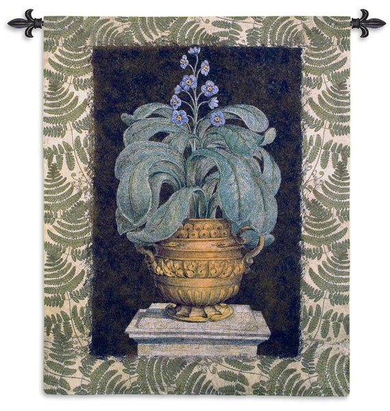 Tropical Urn I Tapestry Wall Hanging