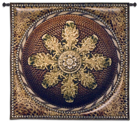 Leopard Rosette Tapestry Wall Hanging