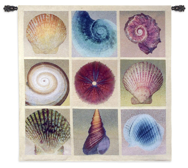 Shell Collection Tapestry Wall Hanging