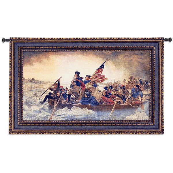Washington Crossing the Delaware Tapestry Wall Hanging