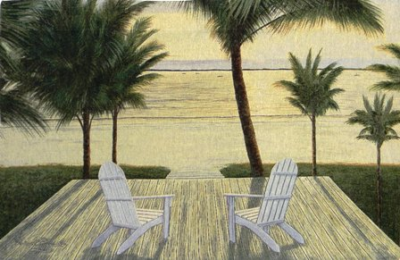 Palm Beach Retreat Tapestry Wall Hanging