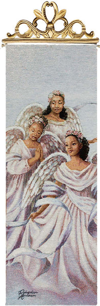 Angelic Trio Religious Bell Pull Tapestry Bell Pull