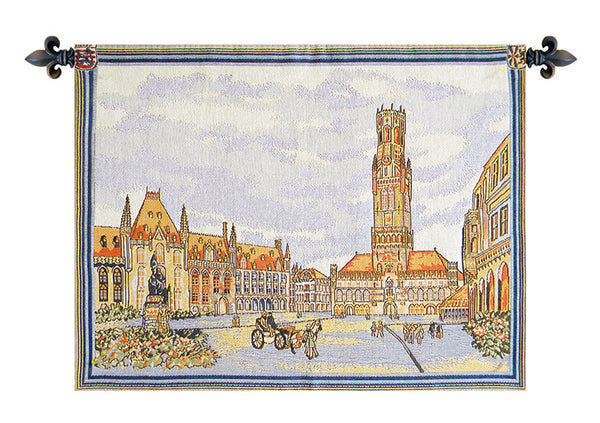 Views of Bruges I European Wallhanging