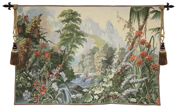 Jardin des Delices French Tapestry Wall Hanging