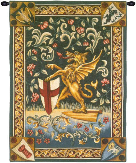 Griffin of London French Tapestry Wall Hanging