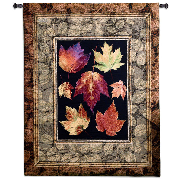 Auutmn Glory Maple - Botanical Tapestry Wall Hanging