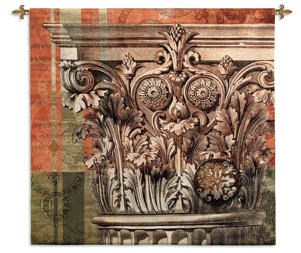 Iconic Capital - Architecture Tapestry Wall Hanging