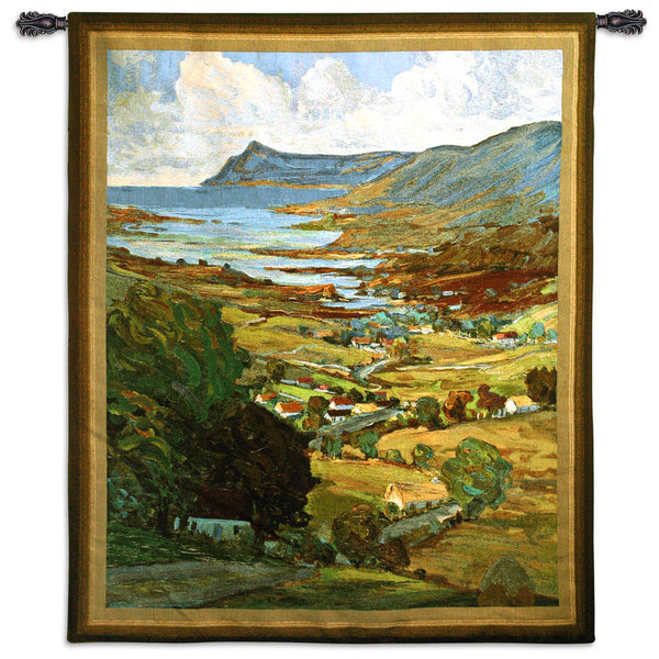 The Color of Ireland -Landscape Tapestry Wall Hanging
