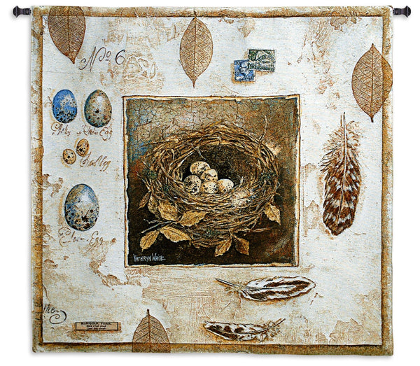 Nested No 6 - Aviary Tapestry Wall Hanging