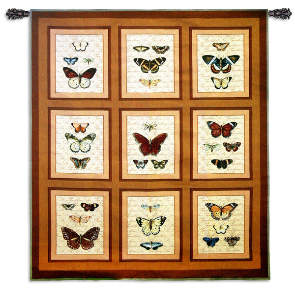 Butterflies Nature Tapestry Wall Hanging