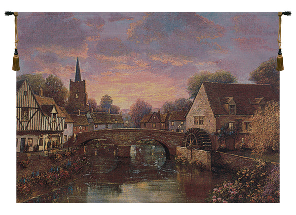 The Mill Pond Tapestry Wall Hanging