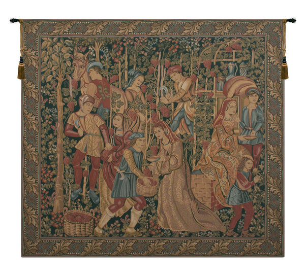 Vendage Right Panel Tapestry Wall Hanging