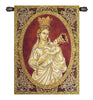 Madonna from Trapani Italian Tapestry Wallhanging
