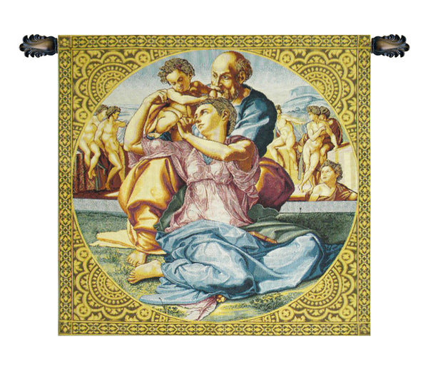 The Holy Family Italian Tapestry Wallhanging