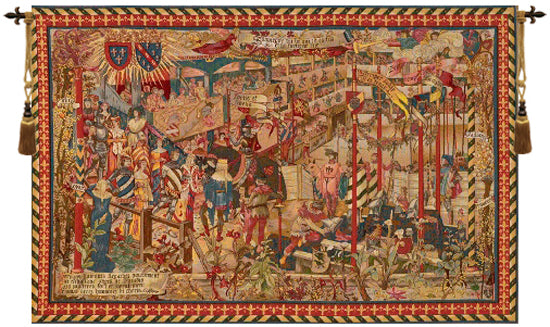 Le Tournai Horizontal French Tapestry