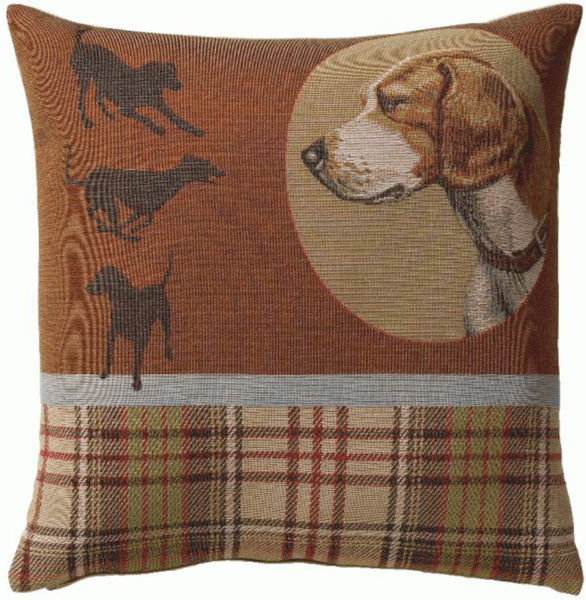 Scottish Dogs French Tapestry Cushion