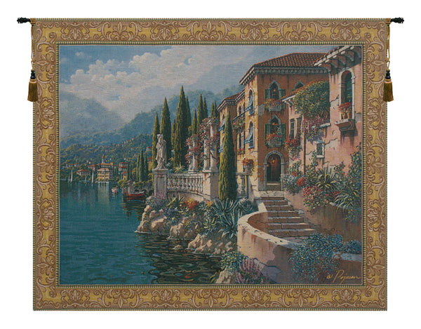 Morning Reflections Flanders Belgian Tapestry Wall Hanging