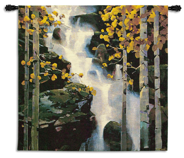 Waterfall Landscape General Tapestry Wall Hanging