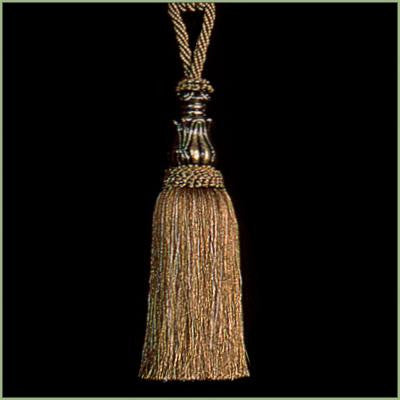 Elegance Earth Tone Tapestry  Decorative Tassels
