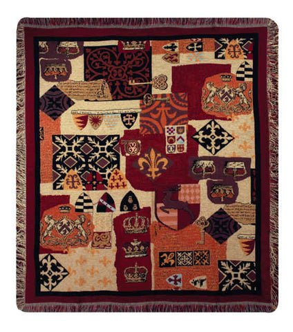 Cambridge Tapestry Throw