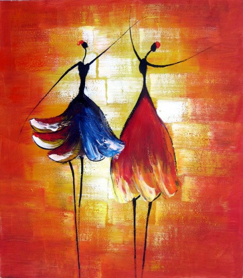 Dance with Me Oil Painting