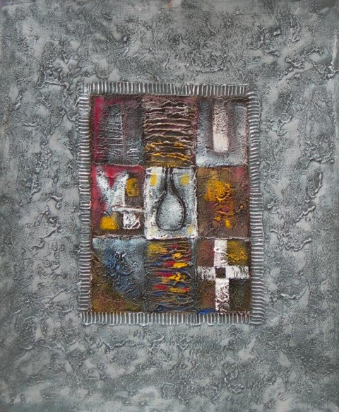 Patchwork on the Stone Oil Painting