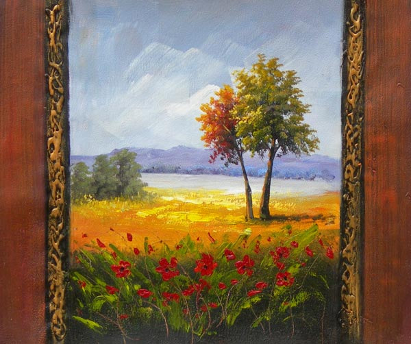 Late Summer Splendor Canvas Wall Art