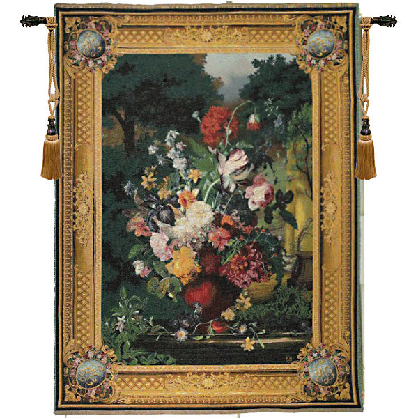 Grand Bouquet Flamand French Tapestry