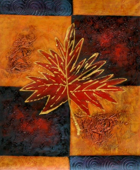 Maple Oil Painting