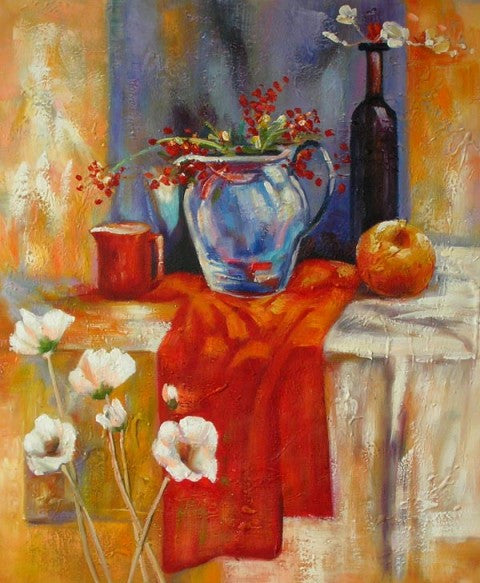 Vitality Oil Painting