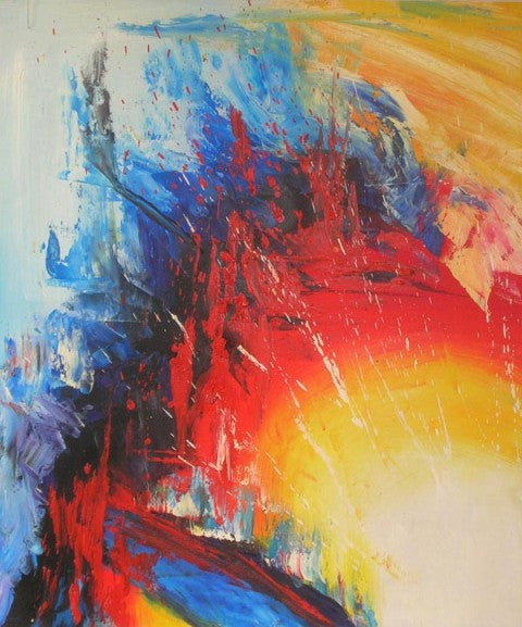 Fire and Ice Oil Painting