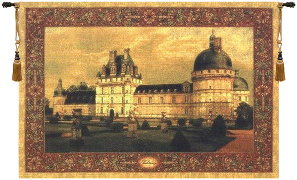 Chateau Valencay I Tapestry Wall Hanging