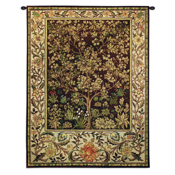 Tree of Life - Umber Tapestry Wall Hanging