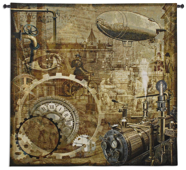 Streampunk Tapestry Wall Hanging