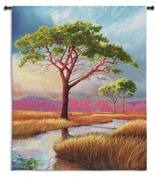 Daybreak on the Marsh Tapestry Wall Hanging