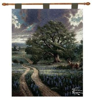 Country Living by Thomas Kinkade Tapestry Wall Hanging