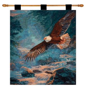 American Majesty Eagle I Fine Art Tapestry