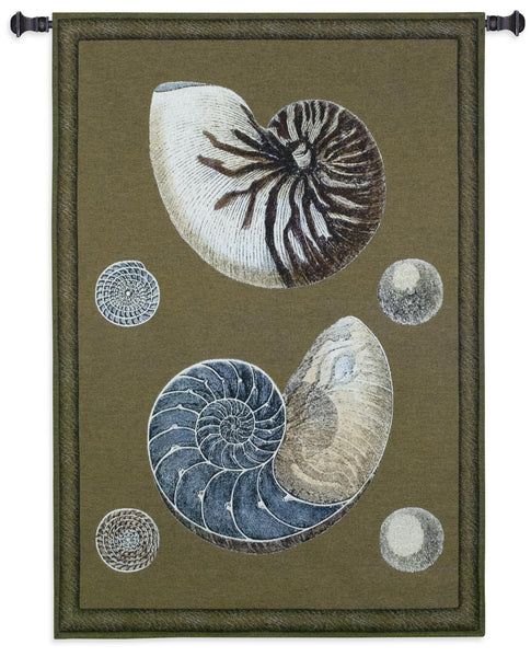 Nautilus Shells Tapestry Wall Hanging