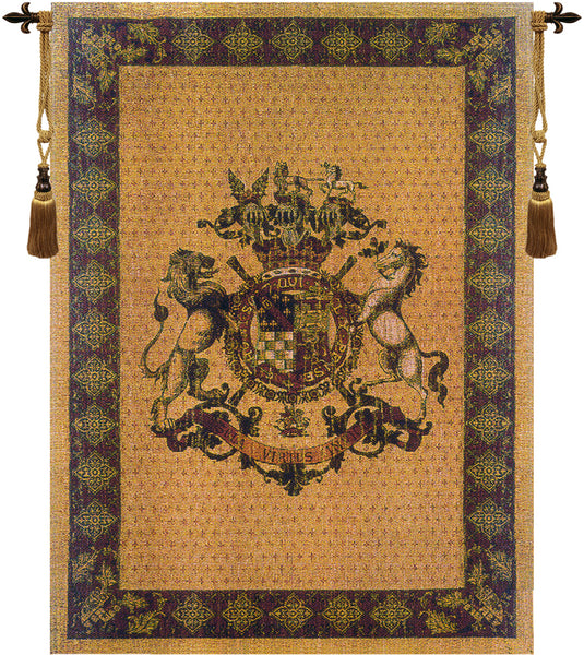 Honni Soit Qui Mal Y Pense Tapestry Wall Hanging