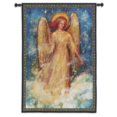 Joy to the World Tapestry Wall Hanging