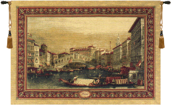 Venice Rialto Tapestry Wall Hanging