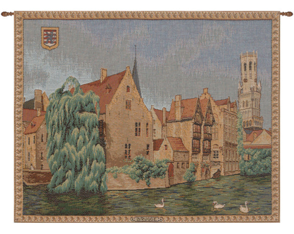 Brugges Riverside French Tapestry