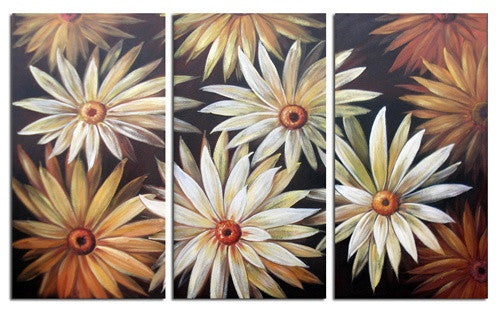 Daisy Patch Canvas Art